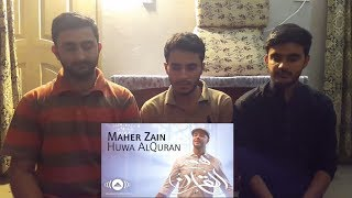 Maher Zain - Huwa AlQuran | Reaction | React Bros