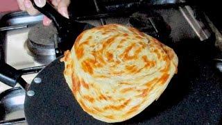 Crispy Pheni Paratha - Lachha Paratha Recipe