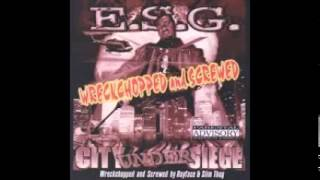 City Under Siege - esg - Wreckchopped & Screwed