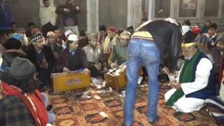 mehfil e qawali at hazrat nizamuddin aulia(R.A)