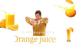 PPAP  Piko Taro Orange Juice