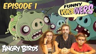 Angry Birds - Funny Voice Overs   Halloween - S1 Ep1 #BadLipSync