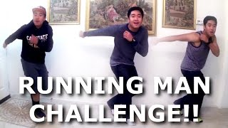 THE RUNNING MAN CHALLENGE!!!
