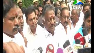 O Paneer Selvam visits Kumili; adamant on stance of 142ft at Mullapperiyar |