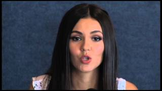 Victoria Justice Love Song To The Earth Press Conference