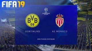 FIFA 19 - Borussia Dortmund vs. AS Monaco @ Signal Iduna Park