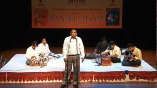 Tujh Se Pehle Jo Tamanna Thi emotional ghazal sung by Roshan Lal, Pratapgarh.
