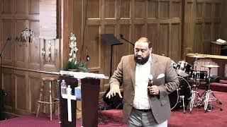 Pastor Dawit Molalign at Addis Kidan Church of San Francisco 08/26/2018