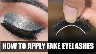 कैसे लगाएं और छुटाएँ Eyelashes| How To Apply & Remove Fake Eyelashes In HINDI
