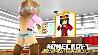 Minecraft Little Kelly : BODY SWAP WITH RAMONA!