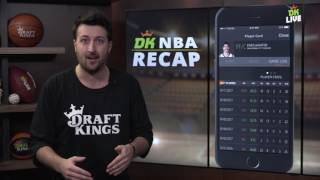 DK NBA Recap: Enes Kanter - Jan. 13th
