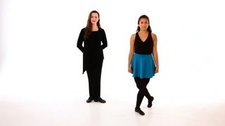 How to Do a Hop Step Move | Irish Step Dancing