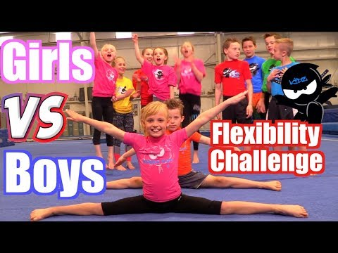 Xxx Mp4 Girls Vs Boys Gymnastics Flexibility Challenge 3gp Sex