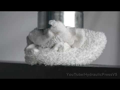 Xxx Mp4 Towel Vs Hydraulic Press Don T Drop Your Towel 3gp Sex