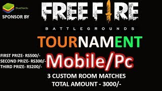 [ TOURNAMENT  ]Garena Free Fire India Slam  - BlueStacks - Gyan Gaming - YT