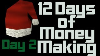12 Days of Runescape Money Making Day 2 | Crafting XP + 200k+ p/ Hour