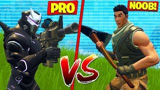 Can A Noob *KILL* A Pro In Fortnite Battle Royale!