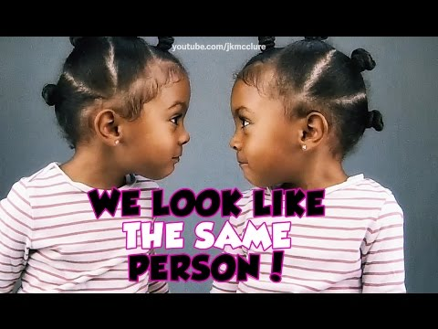 Twins realize they look the same!