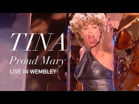 Tina Turner Proud Mary Live Wembley HD 1080p