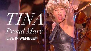 Tina Turner - Proud Mary - Live Wembley  (HD 1080p)