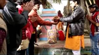 JAY TRIPATHI ON SHOOT BHOJPURI MOVIE