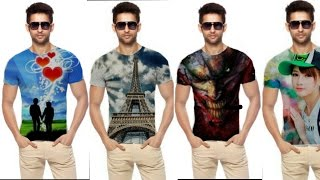 4 AMAZING cool t-shirt editing tutorial | how to put image on tshirt in picsart