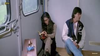 DDLJ funny scene.shahrukh khan and kajol.