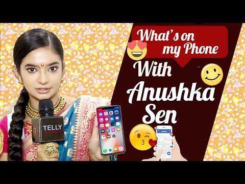 Xxx Mp4 What 39 S On My Phone With Anushka Sen Jhansi Ki Rani Telly Reporter 3gp Sex