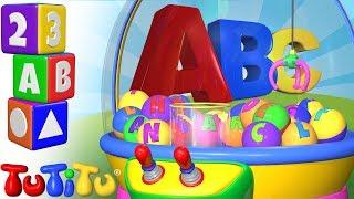 TuTiTu Preschool | Crane Game | Learning the Alphabet with TuTiTu ABC