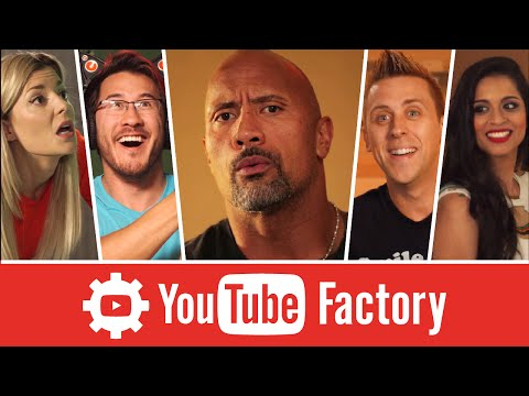 The YouTube Factory feat. Dwayne The Rock Johnson Lilly Singh and More
