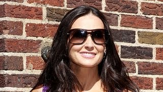 Demi Moore Comes Face-to-Face with Mila Kunis and Ashton Kutcher