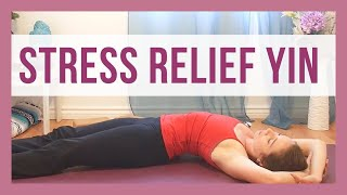 Yin Yoga for Stress & Anxiety Relief