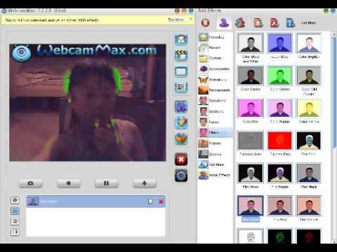 Уродствуем себя на (Webcam Max.com)