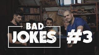BAD JOKES 3 #NoapteaTârziu   Cuza & Quick VS Bromania & Rusu