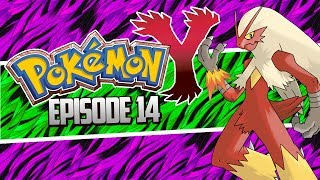 Pokemon X and Y Let's Play Walkthrough, Blaziken so OP - Episode 14!