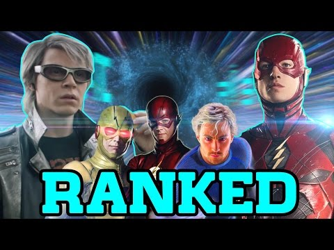 Top 20 Fastest Live Action Speedsters Ranked