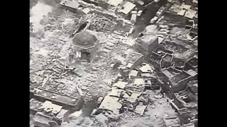 Raw: Islamic State Destroys 12th Century Mosque