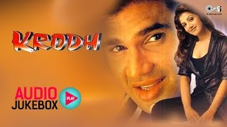 Krodh Audio Songs Jukebox | Sunil Shetty, Rambha, Anand Milind | Superhit Hindi Songs