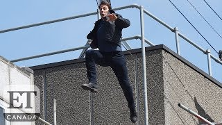Tom Cruise Injured In Stunt On The Set Of