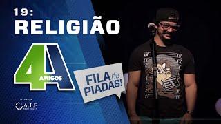 RELIGIÃO - FILA DE PIADAS - #19