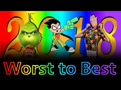 Xxx Mp4 Worst To Best Animated Films Of 2018 Part 1 3gp Sex