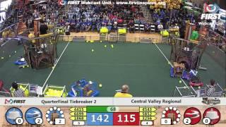 Quarterfinal Tiebreaker 2 - 2017 Central Valley Regional