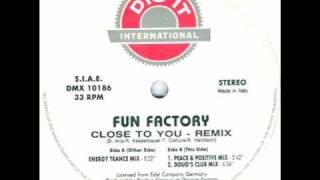 Fun Factory - Close To You (Energy Trance Mix) 1994