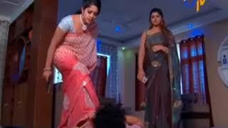 Beautiful TV Serial Actress Jyothi Stunning Killing Scene
