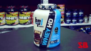BPI Sports Whey HD Protein Review