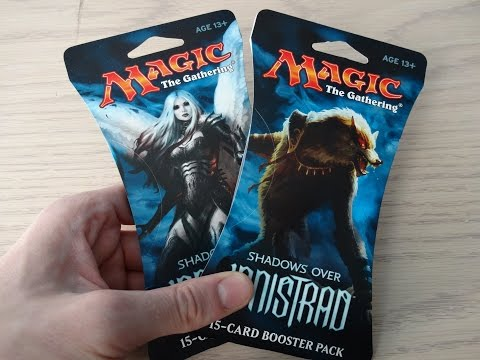 2 Shadows Over Innistrad boosters -AMAZING LUCK AGAIN!! -MTG
