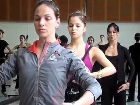 Ballet Nacional de Cuba Warming Up IDFB 2010