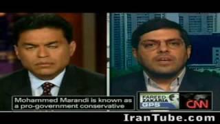 Iran CNN - Fareed Zakaria Attacks Falicious Arguments of Islamic Regime Mouthpiece [M. Marandi]