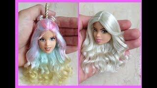 Barbie Hairstyle ✂ Barbie Hair Tutorial ???? Hermosos Peinados Para Barbie 2018