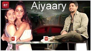 Aiyaary Movie Actor Sidharth Malhotra Picks Between Alia Bhatt & Katrina Kaif In This Or That Game